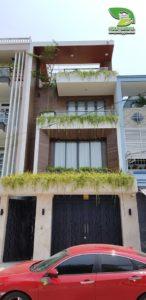 công trình vườn tường nhà anh Lộc - khu Tên Lửa, Bình Tân, Hồ Chí Minh